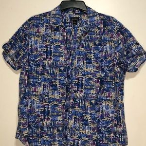 Women's button-down blouse
